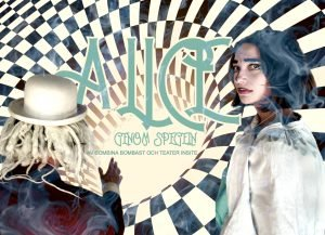 Film-affisch för Alice genom spegeln.
